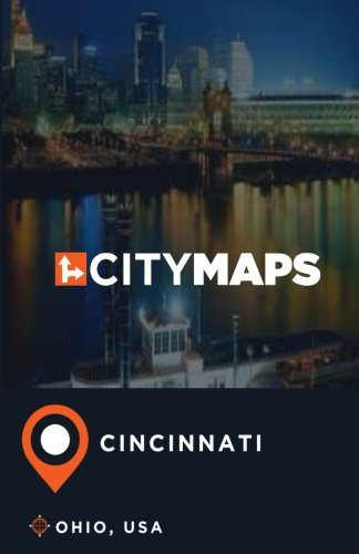 City Maps Cincinnati Ohio, USA