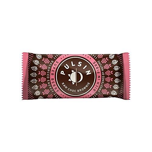 Pulsin Brownie de Chocolate con Bayas 50g (Pack de ...
