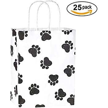 Preferred Amazon.com: Paw Print Plastic Shopping Gift Bags, Assorted Sizes  EK89