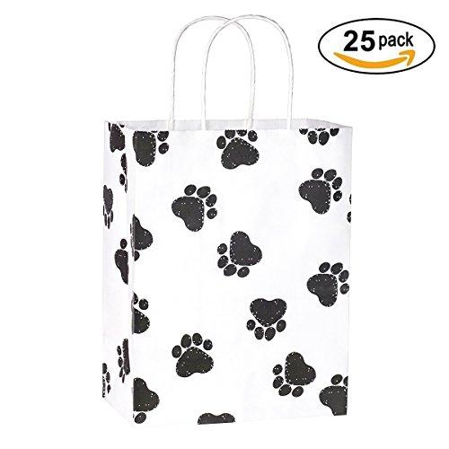 Gift Bags 25Pcs 8x4.75x10.5