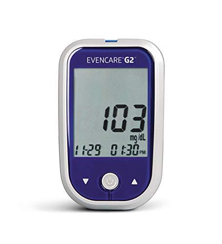 Medline MPH1545 EvenCare G2 Blood Glucose Monitoring System Starter Kit