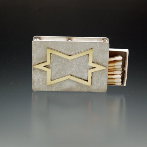 Shabbat Candles Matchbox for Shabbos Weddings Passover Hanukkah Judaica Star