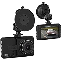Car Black Box, ULU Dashboard Camera Recorder with 4 Wide Digital Zoom, Dash Cam with 3.0 IPS, 1080P FHD, G-Sensor, WDR, Loop Recording, Night Mode 170° Wide Angle,Car DVR with 32G TF Card