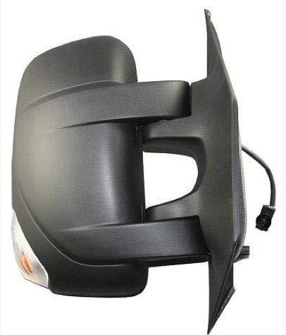 Espejo retrovisor derecho completo el/éctrico t/érmico brazo corto con intermitente y sensor de temperatura