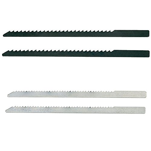 Proxxon 28054 and 28056 2-1/4-Inch Aluminum Jig Saw Blade, 4-Pack by Proxxon