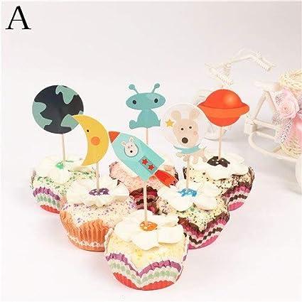 Amazon.com: Accesorios para decoración de tartas – 24 ...