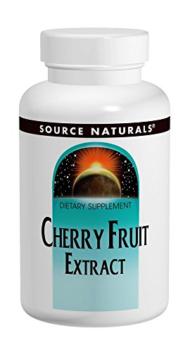Tablets Extract (Cherry Fruit Extract 500mg Source Naturals, Inc. 180 Tabs)
