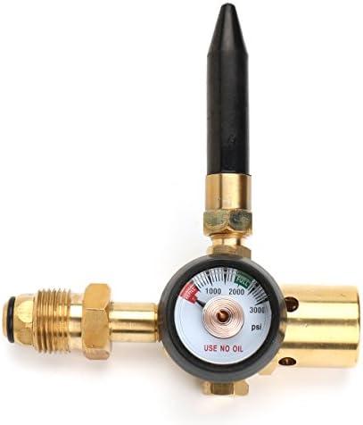 MASUNN Helium Ballon Gas Regulator Luft-Aufpump Ventil Mit Manometer Für G5/8-Zoll-Tank Ventil