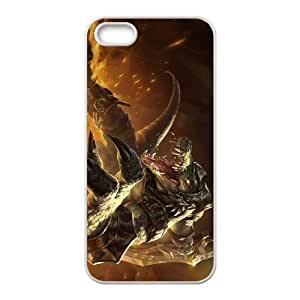 iPhone 5 5s Cell Phone Case White Renekton league of legends 007 HF1540333