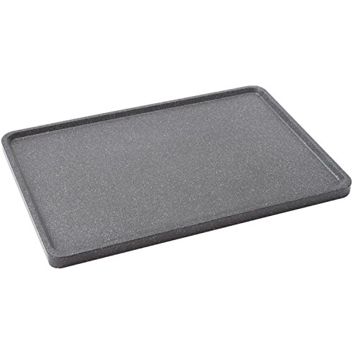 Starfrit The Rock Reversible Grill/Griddle Pan, Black