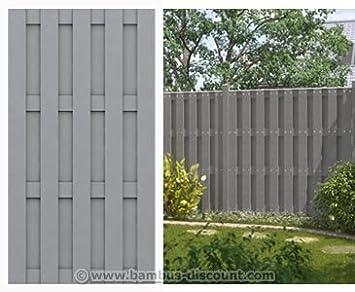 Amazon.de: WPC Gartenzaun, 100% blickdicht 95x179cm - Sichtschutz ...