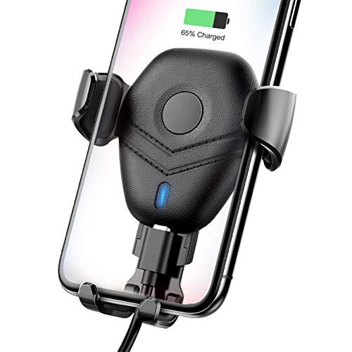 XIAYU Cargador inalámbrico para Coche, Tres en un Soporte de Gravedad detección rápida de teléfono móvil de Carga de...