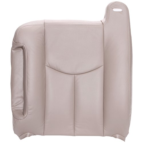 The Seat Shop Driver Top Replacement Seat Cover - Shale (Tan) Leather  (Compatible with 2003-2006 Chevrolet Tahoe, Suburban, and GMC Yukon, Yukon  XL)