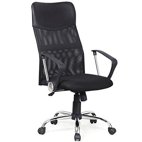44' Dining Table (Yaheetech High Back Ergonomic Mesh Computer Chair (Black))
