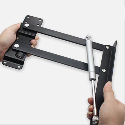 Yibang 1 Pair New Coffee Table Lifting Frame Folding Lift Up Top Mechanism Hydraulic Buffer Hinge Hardware Set Bear More 50Kg