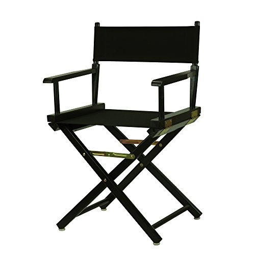 Casual-Home-Director-Chair-Black-Frame-Canvas