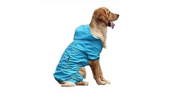 Zolimx Chubasqueros Impermeables para Mascotas Perros con ...