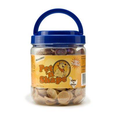 Chik 'n Chips Dog Treats - 1 lb [Set of 12] by Pet 'n Shape