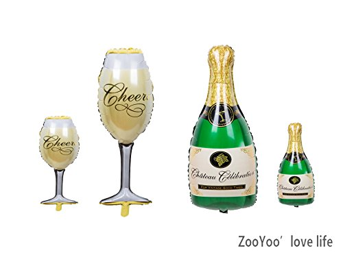 Balloons Champagne Anniversary Engagement Decorations product image