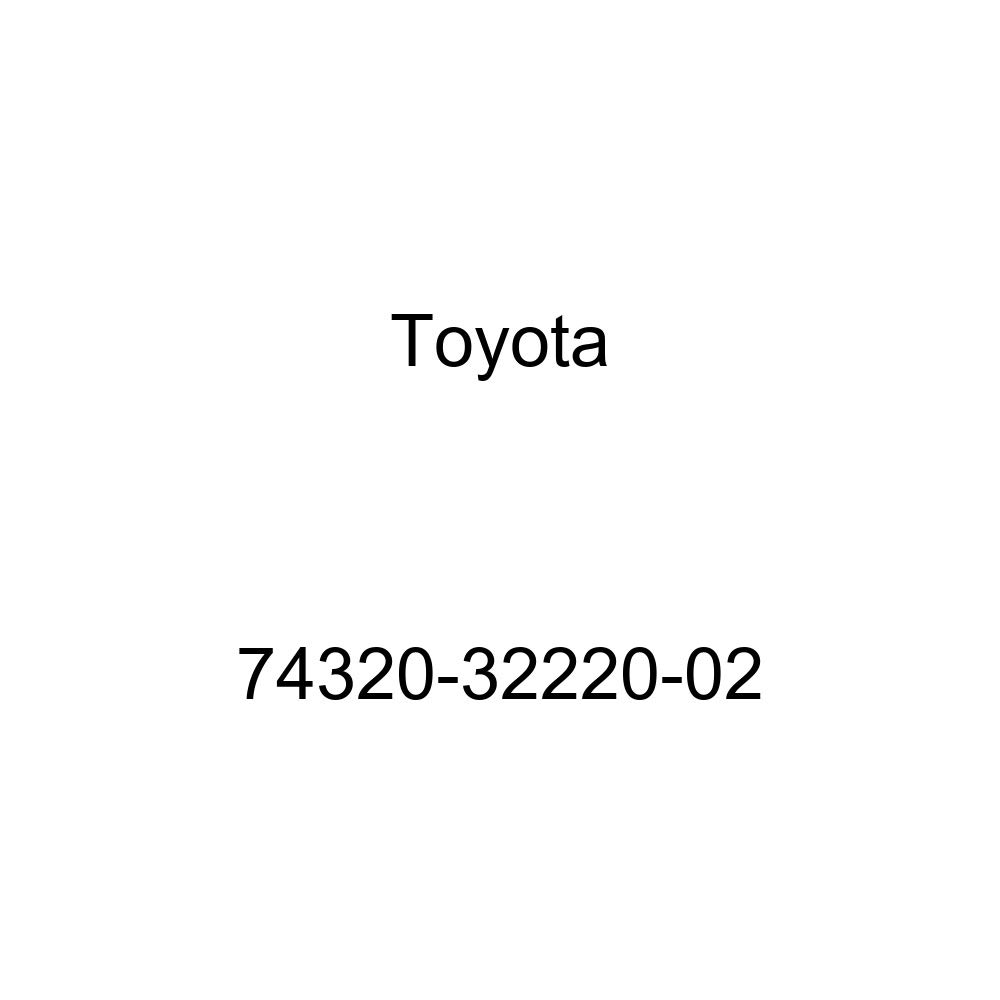 TOYOTA Genuine 74320-32220-02 Visor Assembly