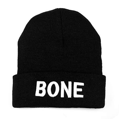 NYKKOLA Unisex Slouchy Cuff Beanie Skull Knit