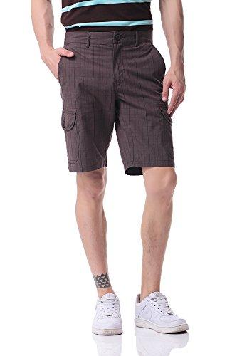 Casuale Ph Fit 3 Da Pau1hami1ton A Uomo Carico Slim In Pantaloncini Quadri 18 Cotone Chino Cwxx6OTtdq