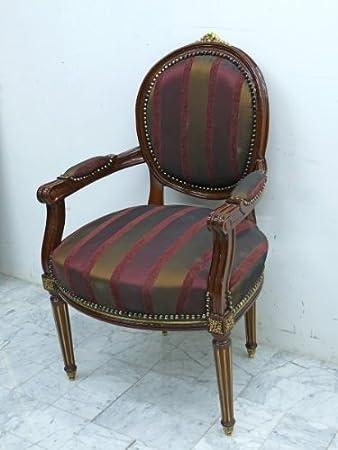 LouisXV fauteuille asiento barroco MoBd07702: Amazon.es: Hogar