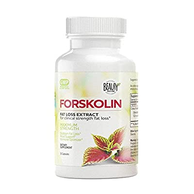 Forskolin | High Potency Fat Burner and Metabolism Booster | Appetite Suppressant Control | Weight Loss | Maximum Strength Natural Extract | Belly Fat Burner Diet Pills |