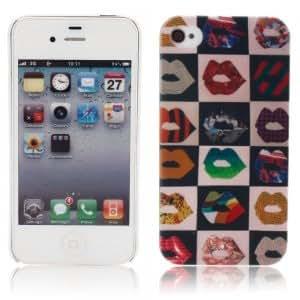 Unique Colorful Protective Case for iPhone 4 Lip ?
