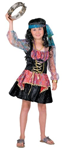 [Girls Gigi Gypsy Costume] (Gypsy Costumes Girl)