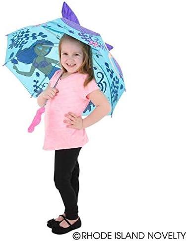 Rhode Island Novelty 30 Inch Child Sized Mermaid Umbrella