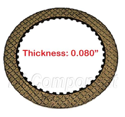 Friction Plate, Forward & Direct Clutch, TH400 3L80 1965-1998, TH-400 8625300