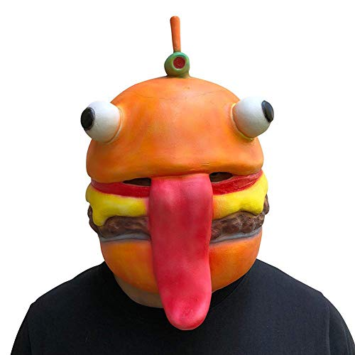 Spoof Beef Burger Boss Mask Holiday Party Cosplay Costumes