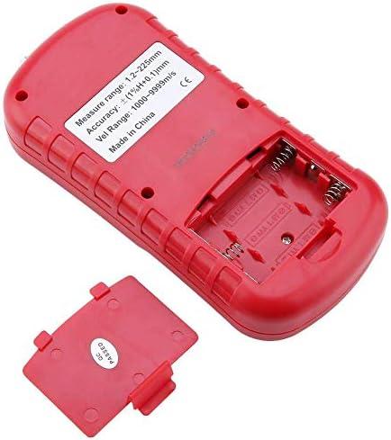LKK-KK Thickness Gauge Digital Ultrasonic 1.2-220mm Steel Width Testing Monitor GM100