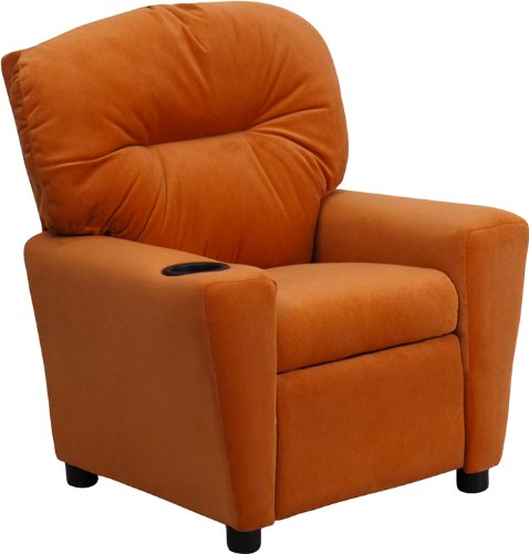 Zuffa Home Furniture Orange kids recliner