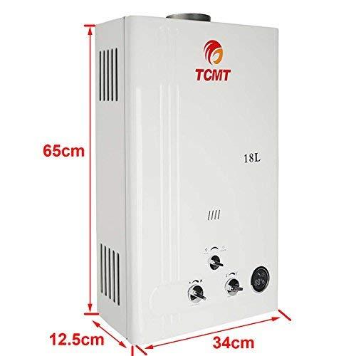 Tengchang 18L LPG Propane Gas Hot Water Heater Tankless Instant Boiler Digital Display Shower Home by Tengchang (Image #3)