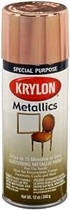 Krylon 1709 Copper Metallic 12 Ounce Aerosol Metallic Paint