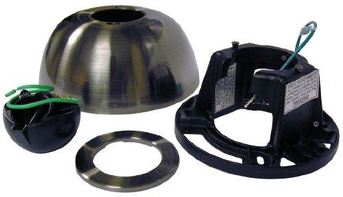 - Fanimation SCK1-52BN Sloped Ceiling Kit, 1-Inch, Brushed Nickel