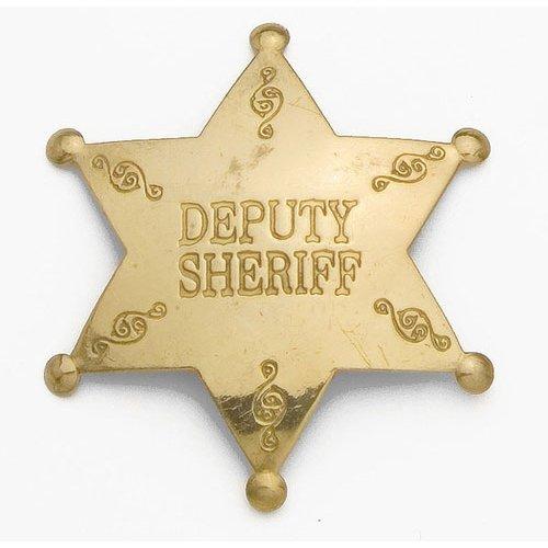Deputy Sheriff Western Replica Badge - (Deputy Sheriff Badge)