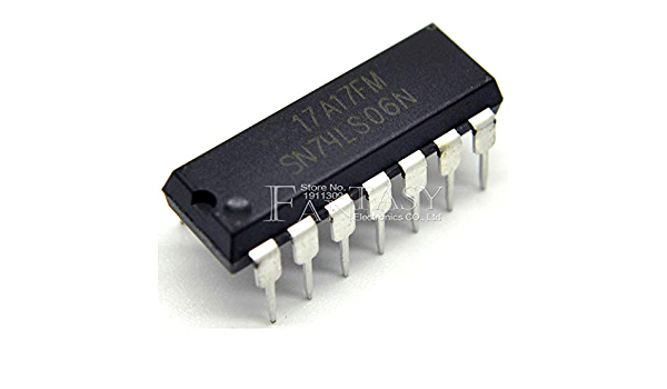 10PCS SN74LS06N DIP14 SN74LS06 DIP 74LS06N 74LS06 New and Original IC