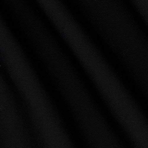 [해외]Robert Kaufman Pimatex Solid Black Fabric By The Yard / Robert Kaufman Pimatex Solid Black Fabric By The Yard