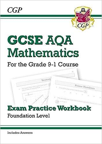 GCSE Maths AQA Exam Practice Workbook: Foundation - for the