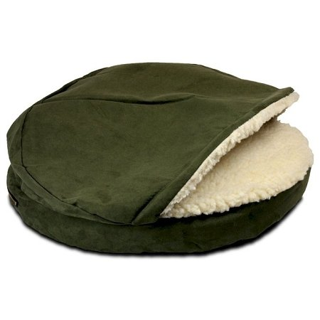 Snoozer Luxury Orthopedic Cozy Cave Pet Bed, Large, ()