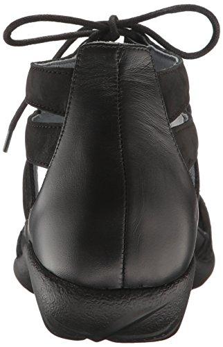 free shipping supply Naot Footwear Women's Kata Black Crackle Leather/Black Velvet Nubuck/Black Raven Leather footlocker cheap price buy cheap for nice cheap real finishline S26M0