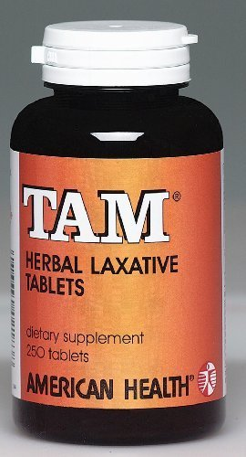 American Health Tam Natural Herb Laxative, 250 Tablets - 8 Pack by AMERICAN HEALTH