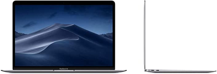 Apple MacBook Air(13インチ, 1.6GHzデュアルコアIntel Core i5, 8GB RAM, 128GB)スペースグレイ
