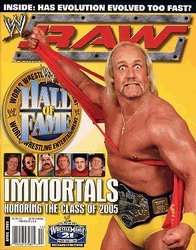 Download WWE RAW MAGAZINE - APRIL 2005 - IMMORTALS HONORING THE CLASS OF 2005 PDF