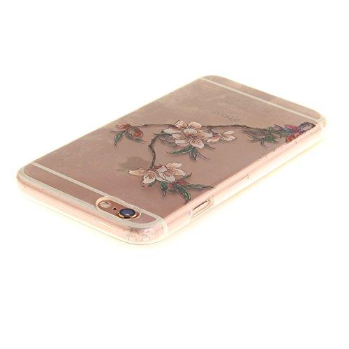 "MOONCASE iPhone 6 / 6S Hülle Case,Slim Handyhülle Schutzhülle Rutschfestem TPU Soft Backcover Bumper Case für iPhone 6S / iPhone 6 (4.7 "") TX15"
