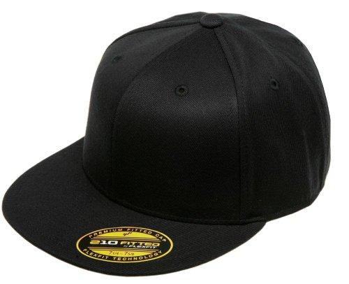 Original Black Flexfit Flatbill L/XL 7 1/4