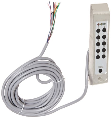 Securitron DK-26PSS Series Keypad, Stainless Steel